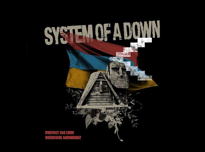 System of a Down - copertina per Armenia Fund